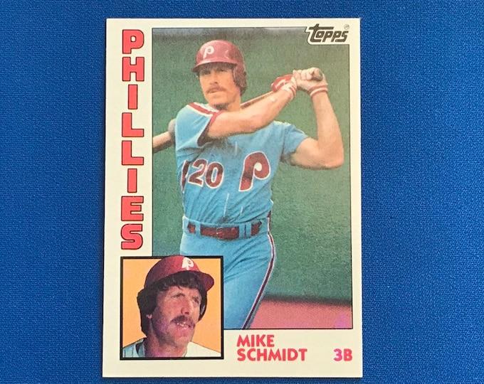 1984 Topps #700 Mike Schmidt Phillies HOF Vintage Baseball Card