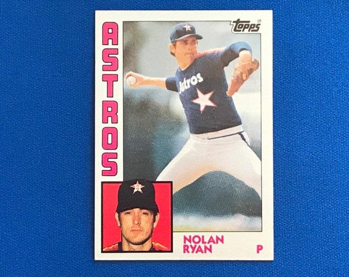 1984 Topps #470 Nolan Ryan Astros HOF Vintage Baseball Card