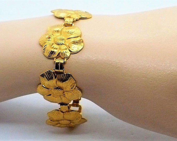 18K Vermeil Bracelet Vintage Jewelry