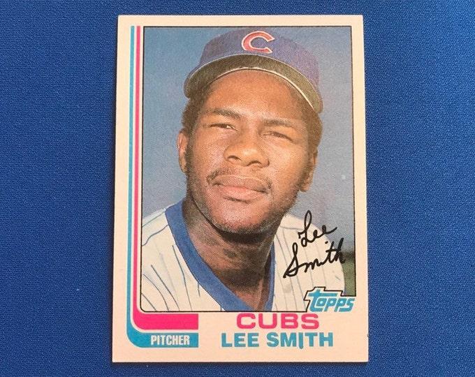1982 Topps #452 Lee Smith RC HOF Vintage Baseball Card