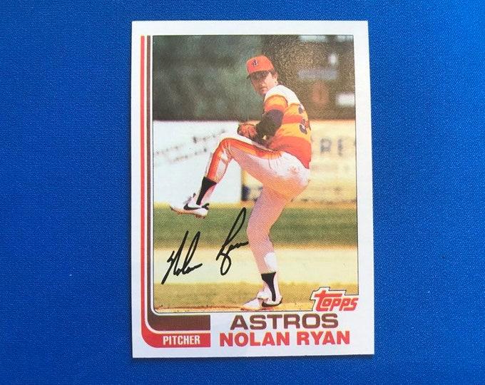 1982 Topps #90 Nolan Ryan Astros RC HOF Vintage Baseball Card