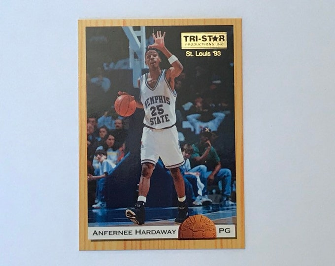 1993 Classic Draft Picks Promos Tri-Star Productions Saint Louis #ANHA Anfernee Hardaway Vintage Basketball Card