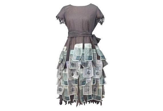 WW1 Victory Dress / Rare / Vintage Dress
