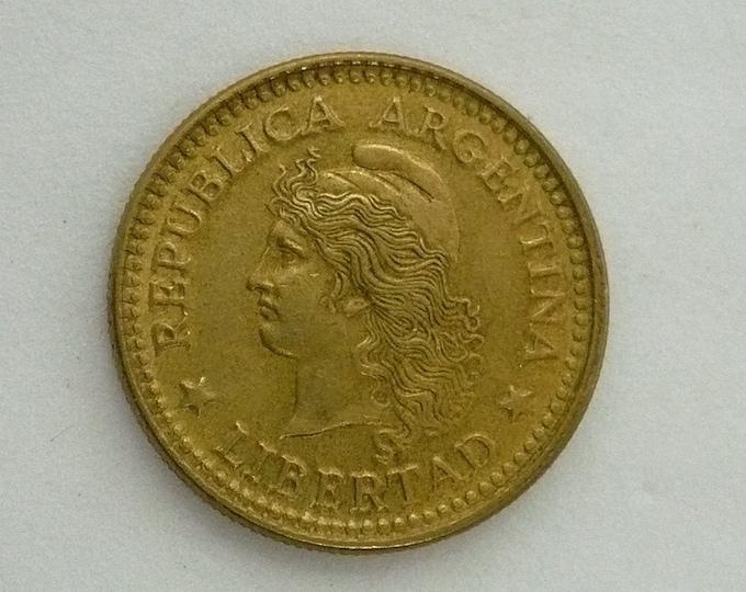 Argentina 1971 10 Centavos Error Coin