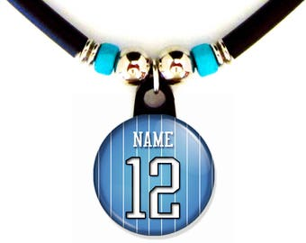 Personalized Basketball Orlando Jersey Necklace With your Name and Number