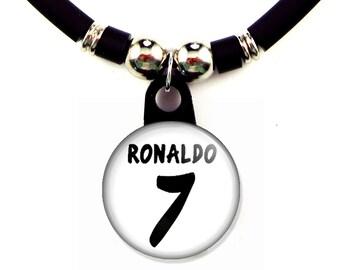 Cristiano Ronaldo Real Madrid Jersey Necklace