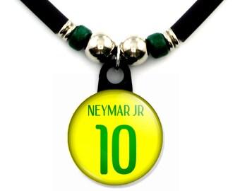 Neymar Jr FC Brazil jersey necklace