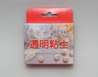 TOUMEI NENDO Air Dry  Japanese Translucent Clay