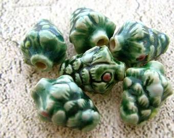 4 perline piccolo albero di Natale