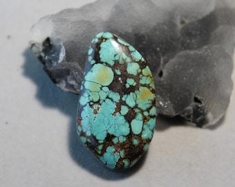 Turquoise Gemstone Hubei 100/% Natural Chinese Yungaishi # FJ 022 21.30 ct