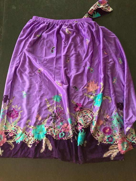 70's Sirena Swimwear, Swim Suit and Skirt, Vintag… - image 8
