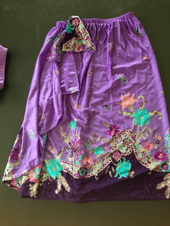 70's Sirena Swimwear, Swim Suit and Skirt, Vintag… - image 7