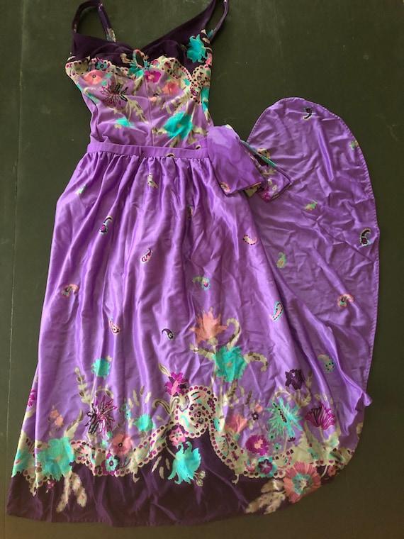 70's Sirena Swimwear, Swim Suit and Skirt, Vintag… - image 1