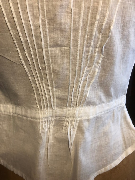 Antique Bodice, French Lace Cami, Fancy Corset Co… - image 8
