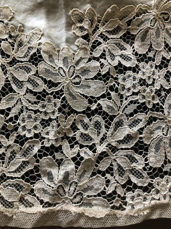 Silk Slip Dress, French Lingerie, Boudoir Gown, 1… - image 8