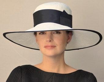 Ladies Black   White Hat d71b65c0a
