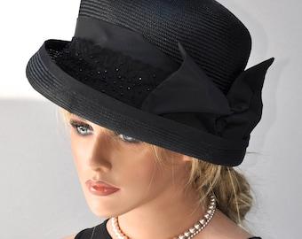 Ladies Black Hat 5b4ce6768ef