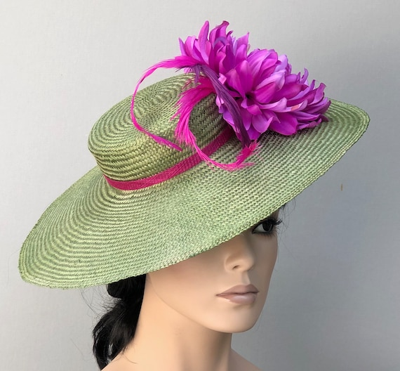 Women's Kentucky Derby Hat, Wedding Hat, Women's Formal Hat, Saucer Hat, Occasion Hat