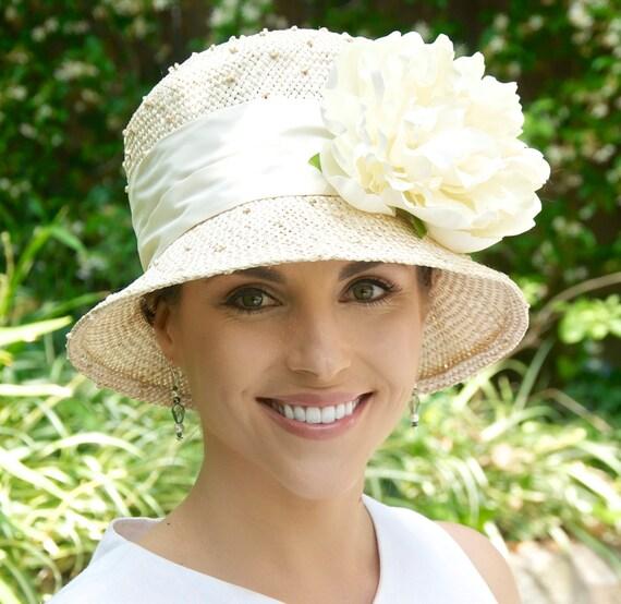 Kentucky Derby Hat. Wedding Hat, Church Hat, Cloche, Formal Hat, Dressy Hat, Tea Party Hat, Garden Party Hat, 1920s hat, 1930s Hat