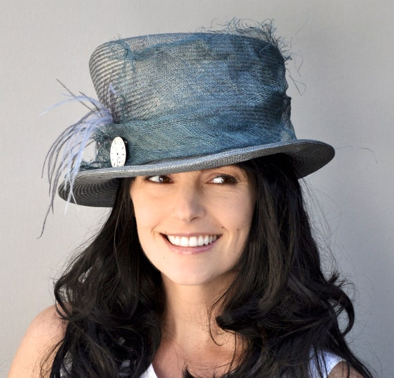 Kentucky Derby Hat, Women's Formal Hat, Ladies Mad Hatter, Royal Ascot Hat, Special Occasion Hat, Wedding Hat
