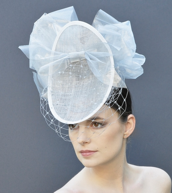 Royal Ascot Fascinator Hat, Ascot Headpiece, Ascot Hat, Ladies Day Hat, Fascinator, Percher