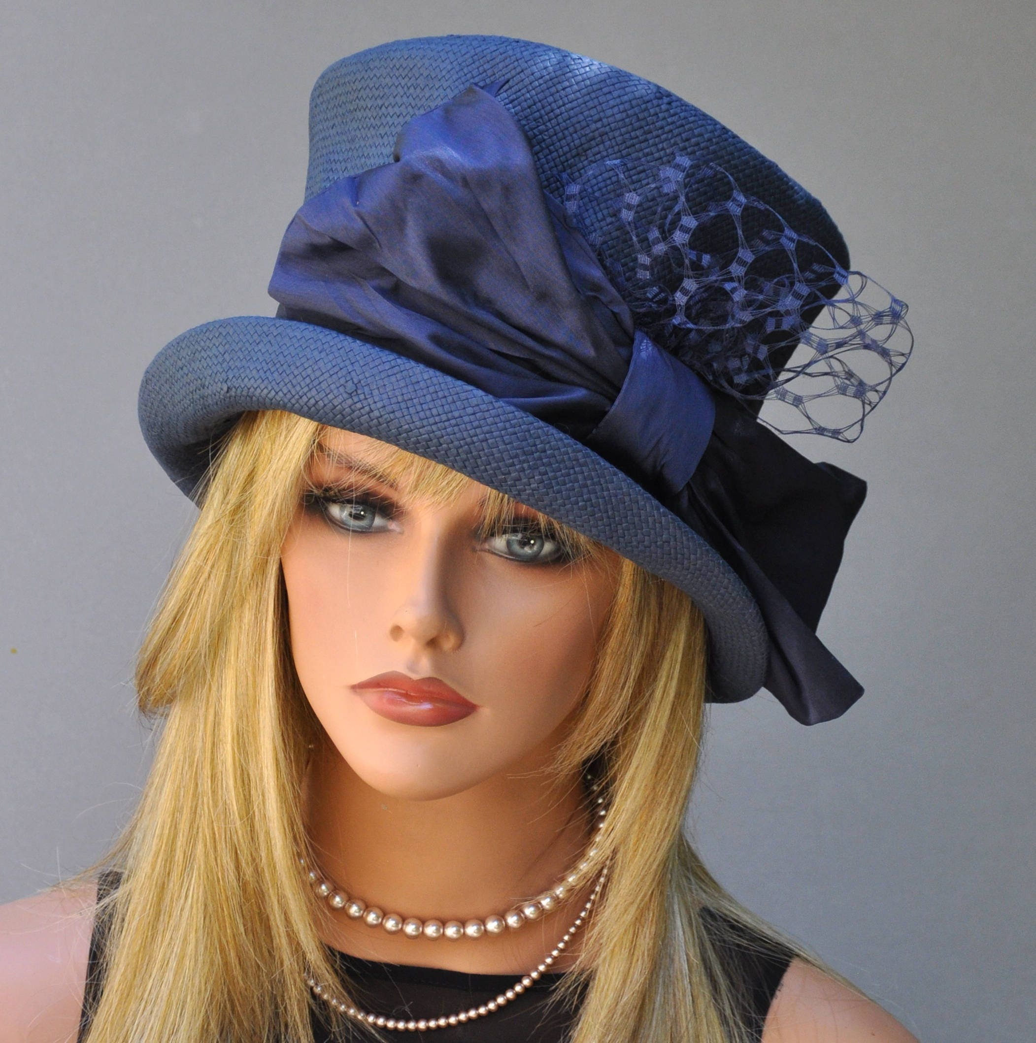 Hats derby for women catalog photo