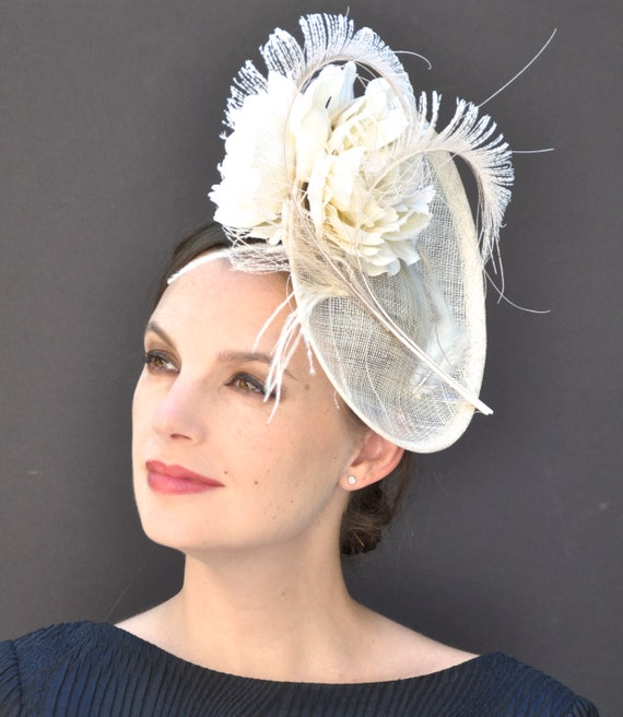 Kentucky Derby Hat, Derby Fascinator, Wedding Fascinator, Wedding Hat, Cocktail Hat, Ladies Formal Hat, Church Hat