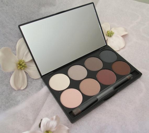 Eyeshadow Palette, Eyeshadow, Neutral Eyeshadow, Gift under 30 Dollars Eyeshadow Pallet, Pressed Eyeshadow, Brown Eyeshadow, Gray Eyeshadow