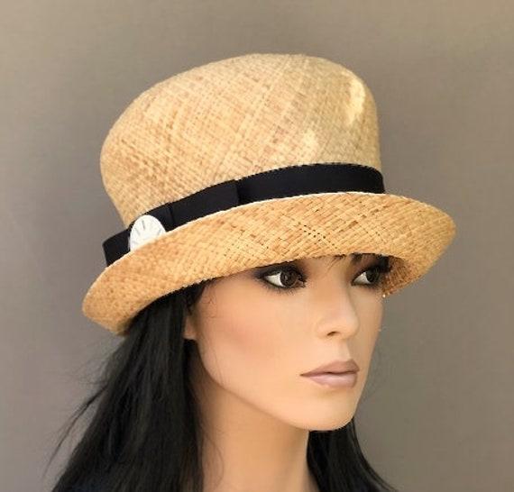 Cloche Hat, Wedding Hat, Downton Abbey Hat, Miss Fisher Hat, 1920s 1930s Hat, Women's Casual Hat, Vintage Style Hat, Ladies Cloche