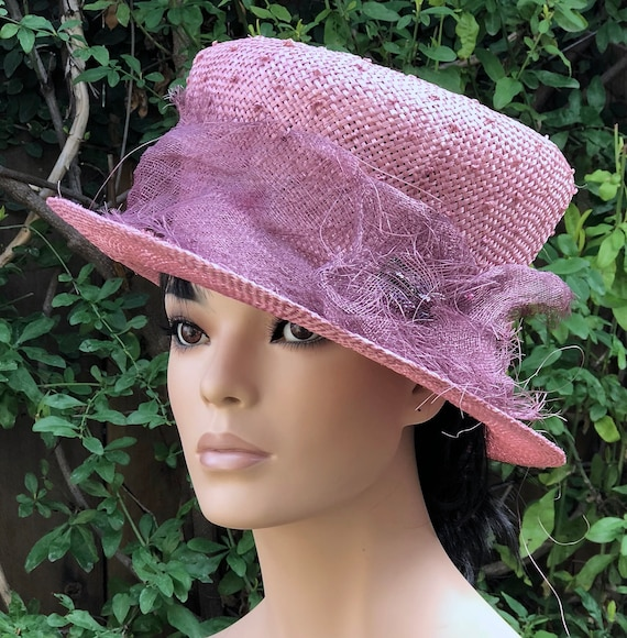 Women's Kentucky Derby Hat, Wedding Hat, Ladies Mad Hatter, Women's Formal Derby Hat,Royal Ascot Hat
