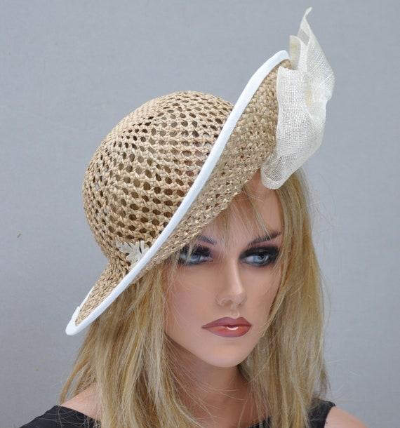 Wedding Hat, Kentucky Derby hat, Church Hat, Cloche, Formal Hat, Occasion Hat