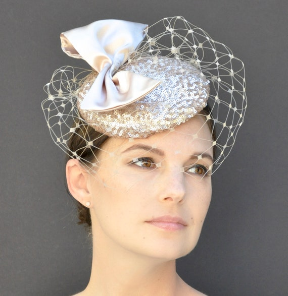 Fascinator Hat, Wedding Hat, Kentucky Derby Hat, Formal Hat, Derby Fascinator, Ascot Hat, Special Occasion Hat