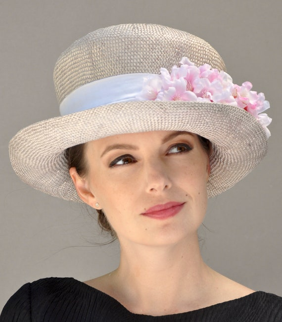 Wedding hat, Derby Hat, Church hat, Formal Hat, Garden Party Hat, Dressy Hat, Occasion Hat, Tea Party Hat