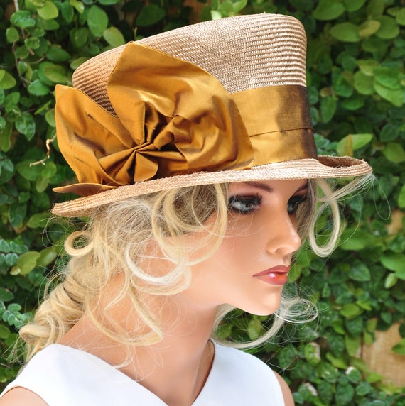Kentucky Derby Hat, Wedding Hat, Women's Formal Hat, Mad Hatter, Royal Ascot Hat