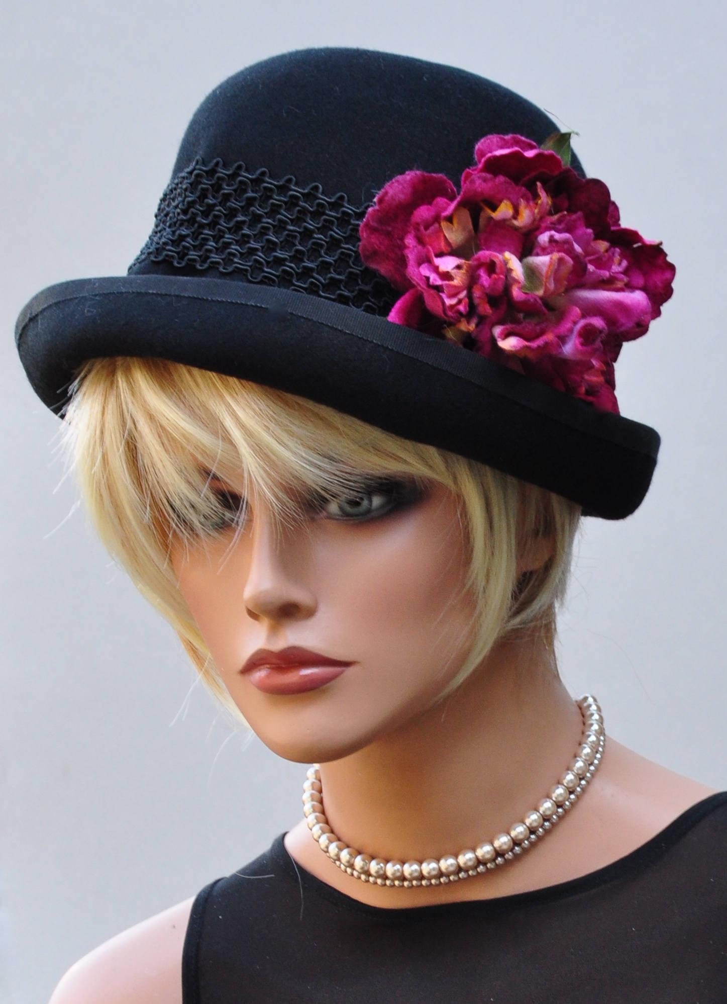 Black Winter Hat f7573fde506