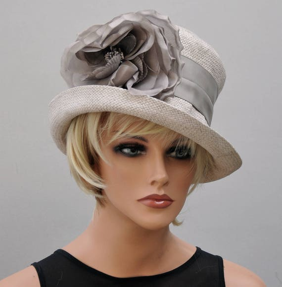 Wedding Hat, Taupe Hat, Formal Hat, Occasion Hat, Church Hat