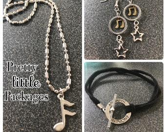 Harmony ~ Music Note ~ Rockstar Jewelry Bundle