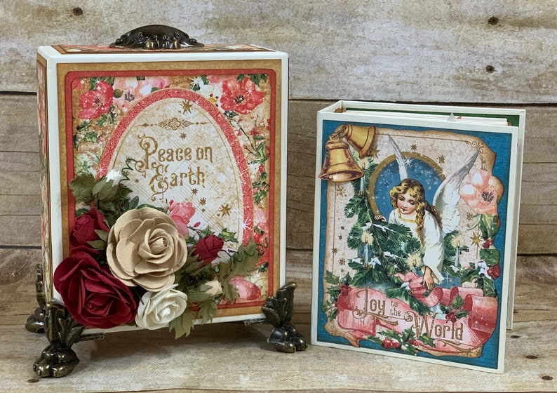 Graphic 45 Joy to the World: ATC Book-in-a-Box Tutorial image 0