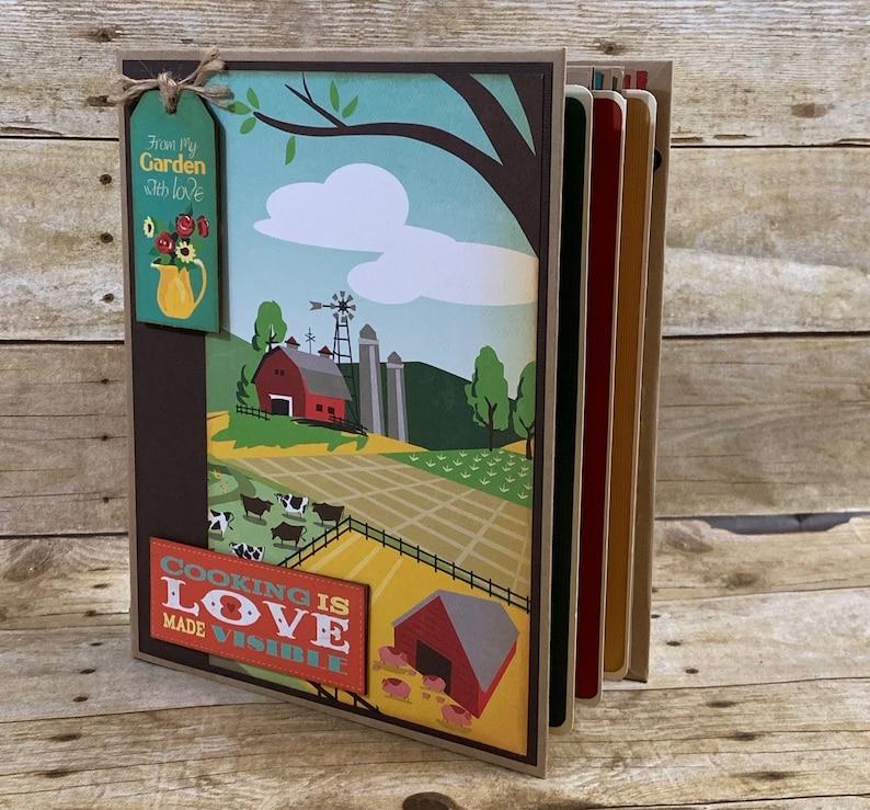 Country Kitchen Recipe Album Tutorial image 0