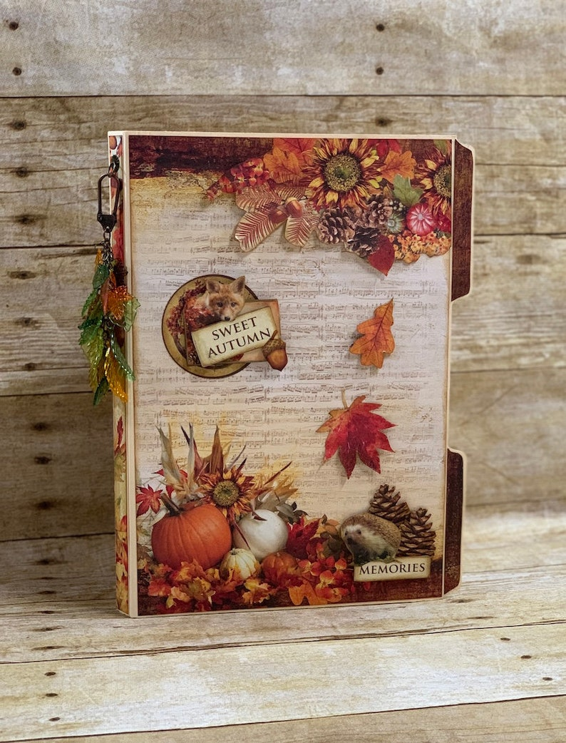 Series 2 File Folder Folio 2 Ciao Bella Sound of Autumn image 0