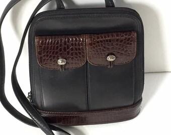 Vintage Brighton Black & Brown Vintage Handbag
