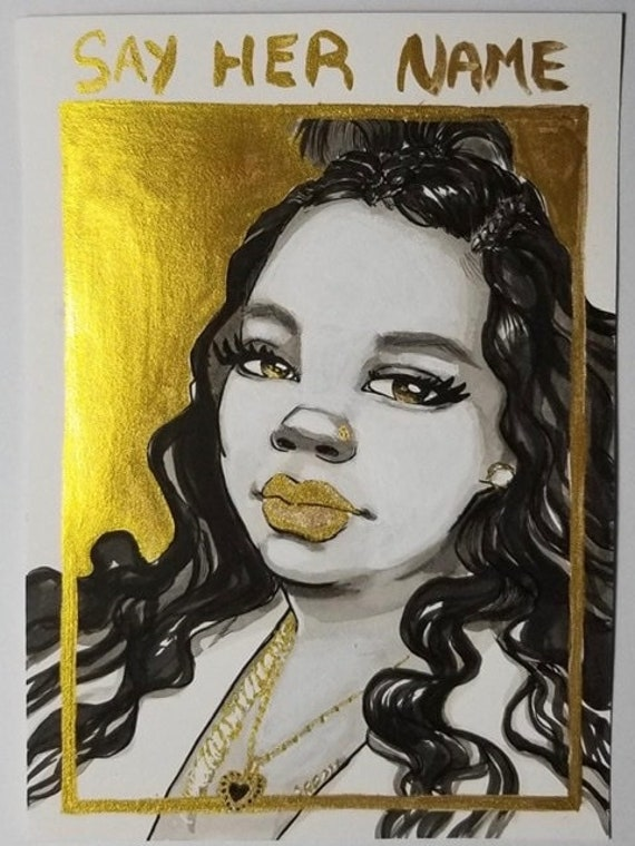 Breonna Taylor Print Proceeds Go To Campaign Zero Etsy