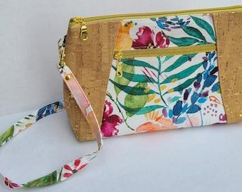 Purse For Her, Cork Sunshine Crossbody Bag, Holiday, Teacher, Babysitter, Gift for Her