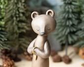 Wishing Bear - Brown Bear Carrying a Heart