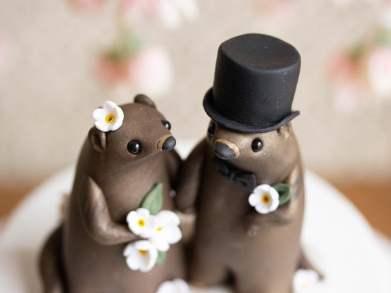 Groundhog Day Wedding Cake Topper