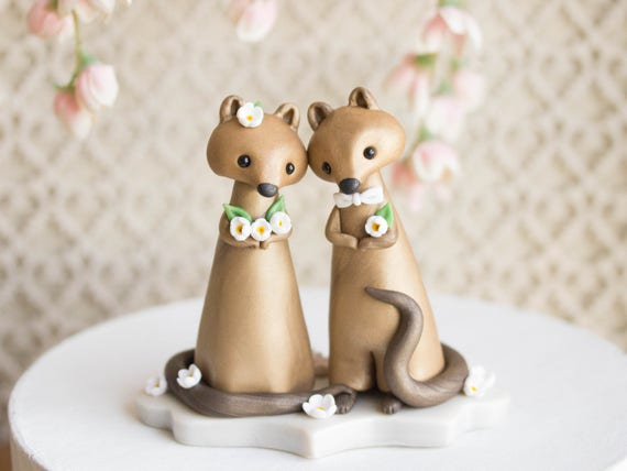 Quokka Wedding Cake Topper