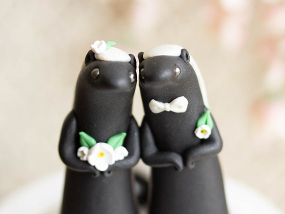 Honey Badger Wedding Cake Topper