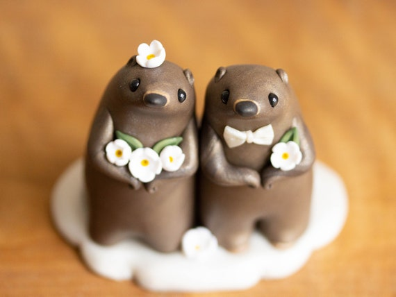 Groundhog Wedding Cake Topper - Groundhog Day Gift