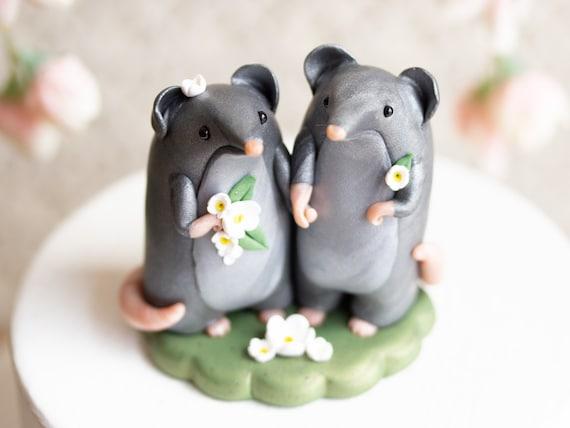 Shrew Wedding Cake Topper