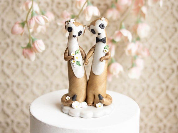 Meerkat Wedding Cake Topper